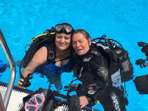 PADI Woman Dive Day 2017